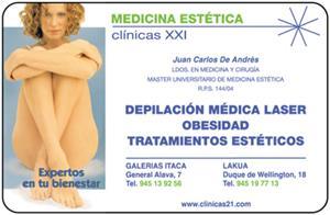 MEDICINA ESTETICA  CLINICAS XXI
