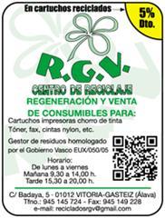 R.G.V. CARTUCHOS RECICLADOS, S.L.
