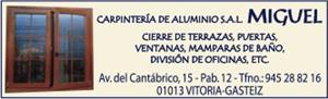 CARPINTERIA DE ALUMINIO MIGUEL