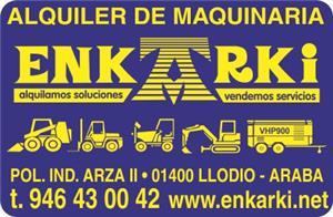 ALQUILER DE MAQUINARIA ENKARKI