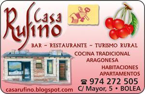 Restaurante casa rufino el callejero - Casa rufino bolea ...