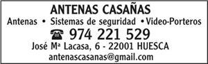 ANTENAS CASAÑAS