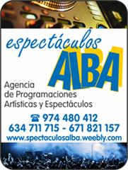 ESPECTACULOS ALBA