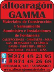 ALTOARAGON MATERIALES DE CONSTRUCCION