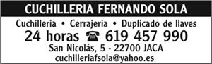 CUCHILLERIA FERNANDO SOLA