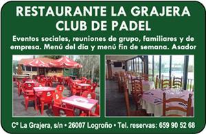 Restaurante La Grajera Club de Padel