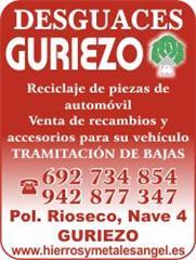 DESGUACES GURIEZO