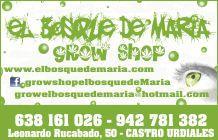 GROW SHOP EL BOSQUE DE MARIA