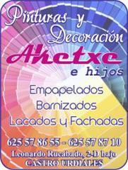 PINTURAS Y DECORACION AKETXE
