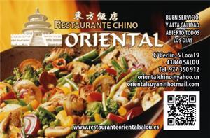 ORIENTAL RESTAURANTE CHINO