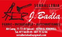 SERRALLERIA J. BADIA