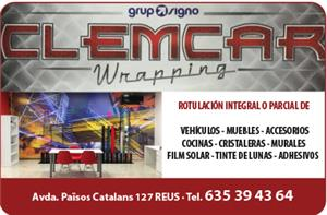 CLEMCAR WRAPPING