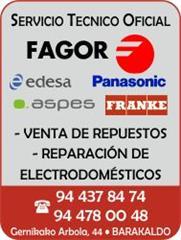 Electrosat fagor el callejero for Servicio tecnico fagor granada